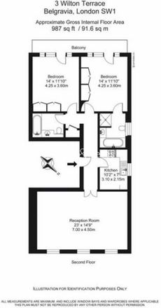 Rent this 2 bed apartment on 3 Halkin Mews in London SW1X 8RR, United Kingdom