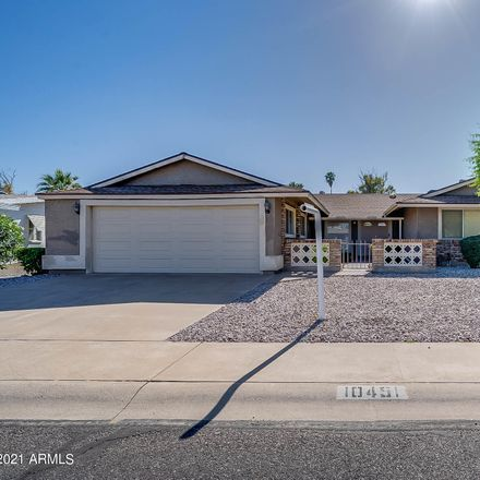 Rent this 3 bed house on W Wininger Cir in Sun City, AZ