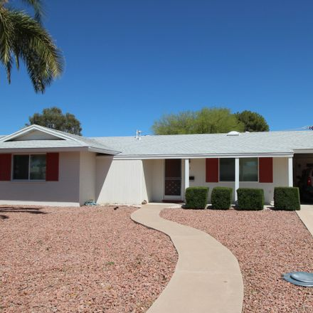 Rent this 2 bed house on North 103rd Avenue in Sun City, AZ 85351