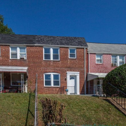 Rent this 3 bed townhouse on 140 North Monastery Avenue in Baltimore, MD 21229
