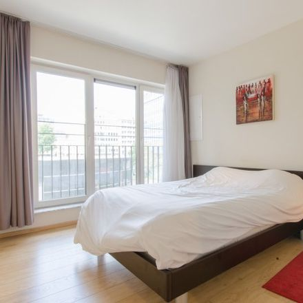 Rent this 1 bed apartment on Madou Plaza Tower in Place Madou - Madouplein 1, Saint-Josse-ten-Noode - Sint-Joost-ten-Node