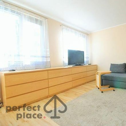 Rent this 1 bed apartment on Centrum Handlowe Borek in Aleja Generała Józefa Hallera 52, 53-324 Wroclaw