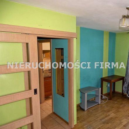 Rent this 1 bed apartment on Komuny Paryskiej 42 in 30-389 Krakow, Poland