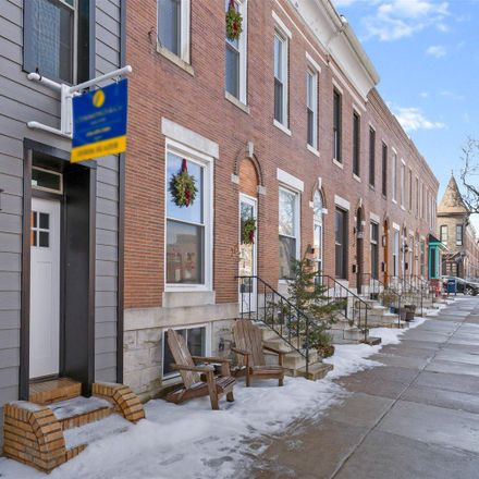 Rent this 3 bed townhouse on 717 East Fort Avenue in Baltimore, MD 21230