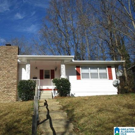 Rent this 3 bed house on 1452 Park Avenue in Tarrant, AL 35217