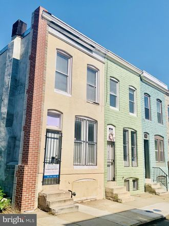 Rent this 2 bed townhouse on 1930 West Fairmount Avenue in Baltimore, MD 21223