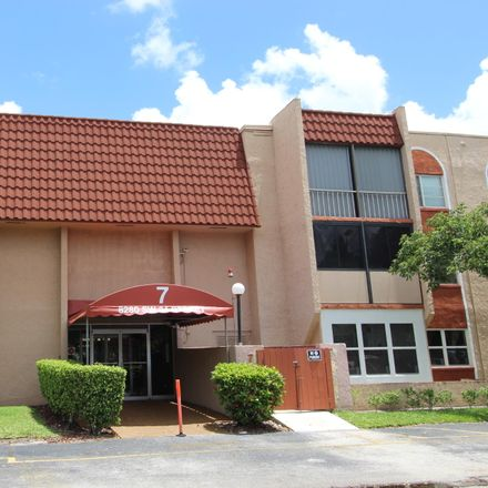 Rent this 2 bed apartment on 8280 Southwest 24th Street in North Lauderdale, FL 33068