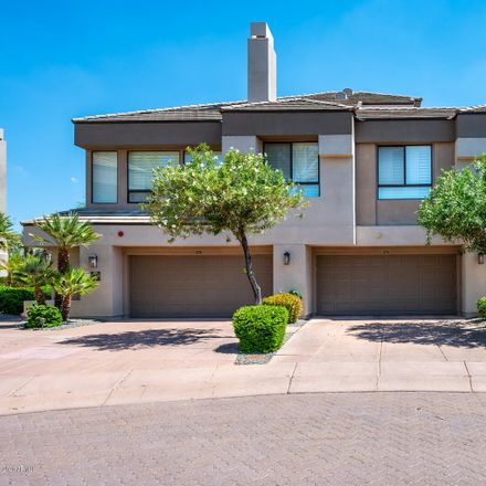 Rent this 2 bed townhouse on 7400 East Gainey Club Drive in Scottsdale, AZ 85258