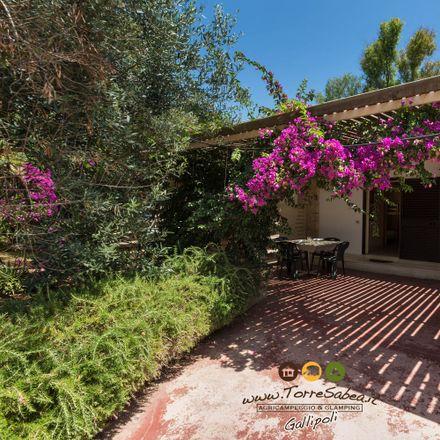 Rent this 2 bed house on AgriCampeggio & Glamping Torre Sabea in Strada Provinciale Santa Maria al Bagno alla Lecce-Gallipoli, 73014 Sannicola LE