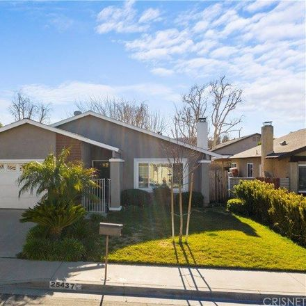 Rent this 3 bed house on 25437 Via Jardin in Valencia, CA