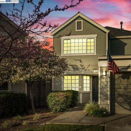 Rent this 3 bed townhouse on 61 Bissell Way in Richmond, CA 94801