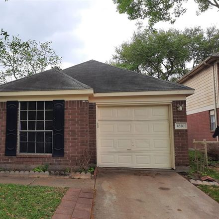 Rent this 3 bed house on 1820 Greenfield Drive in Rosenberg, TX 77471