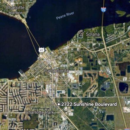 Rent this 0 bed apartment on 2722 Sunshine Blvd in Punta Gorda, FL