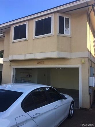 Rent this 3 bed duplex on 3471 Harding Avenue in Honolulu, HI 96816