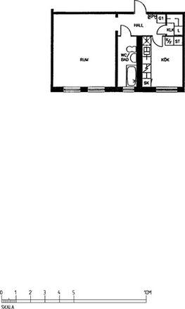 Rent this 1 bed apartment on Väderilsgatan in 418 37 Gothenburg, Sweden