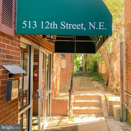 Rent this 2 bed apartment on 513 12th Street Northeast in Washington, DC 20002