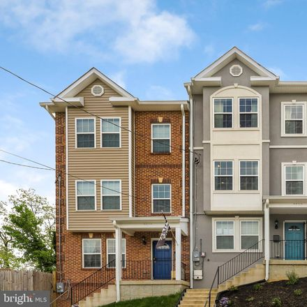 Rent this 4 bed townhouse on 2512 High Street Southeast in Washington, DC 20020