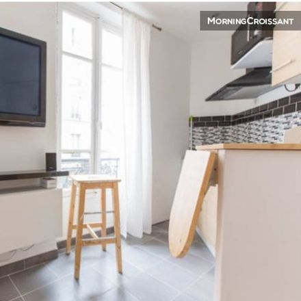 Rent this 1 bed apartment on 115 Rue Duhesme in 75018 Paris, France