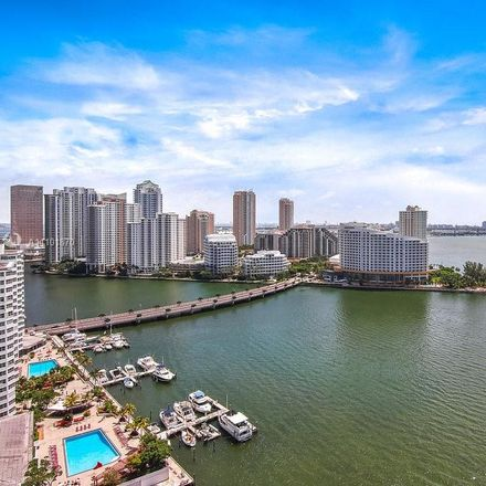 Rent this 1 bed apartment on The Yacht Club in 1111 Brickell Bay Drive, Miami