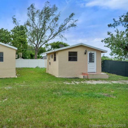 Rent this 1 bed duplex on 7728 Northwest 17th Place in Tradewinds Trailer Park, FL 33147