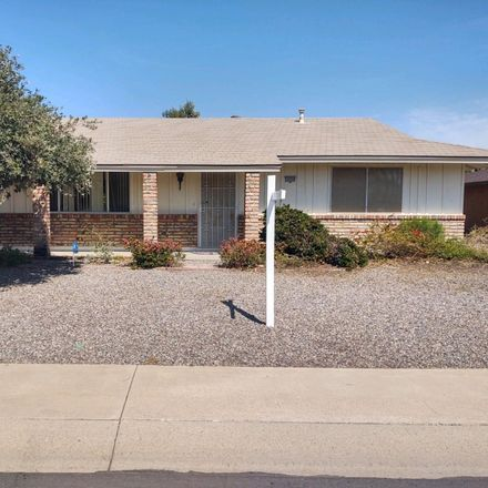 Rent this 2 bed house on 10330 West Sierra Dawn Drive in Sun City, AZ 85351