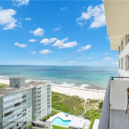 Rent this 2 bed condo on 1900 South Ocean Boulevard in Lauderdale-by-the-Sea, FL 33062
