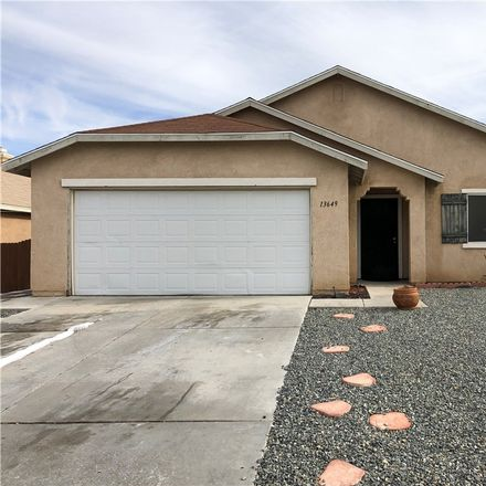 Rent this 4 bed house on 13649 Fern Pine Street in Victorville, CA 92392