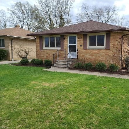 Rent this 3 bed house on 14800 Kennerdown Avenue in Maple Heights, OH 44137