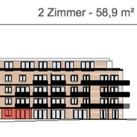 Rent this 2 bed apartment on Neumayerstraße 3 in 20459 Hamburg, Germany