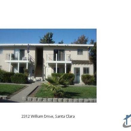 Rent this 2 bed apartment on 2312 William Drive in Santa Clara, CA 95050