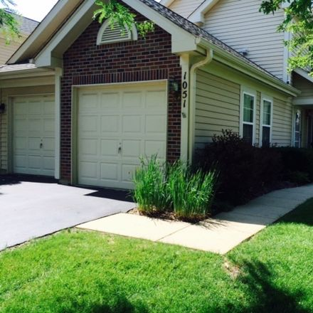Rent this 2 bed townhouse on 1051 Woodhill Court in Elgin, IL 60120