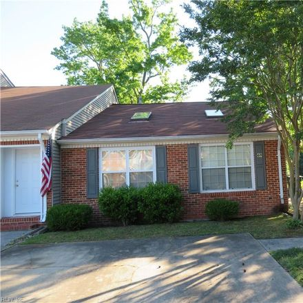Rent this 2 bed townhouse on 69 Riverchase Drive in Hampton City, VA 23669
