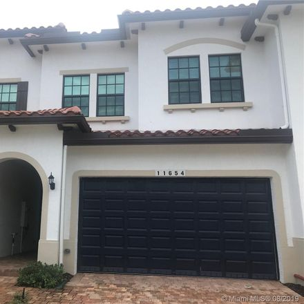 Rent this 3 bed condo on Southwest 13th Lane in Pembroke Pines, FL 33026-4102