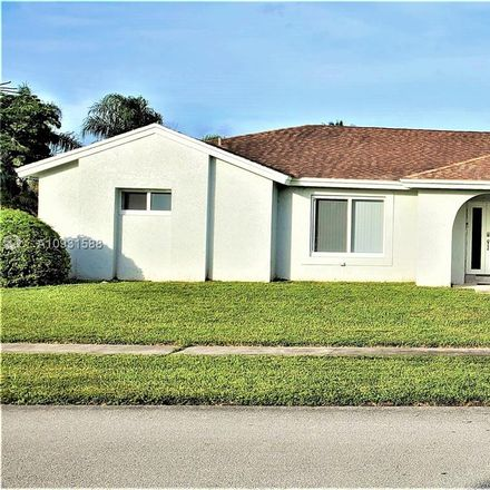Rent this 3 bed house on 8921 Northwest 79th Street in Tamarac, FL 33321