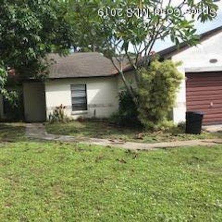 Rent this 3 bed townhouse on 1628 Cardinal Court in Melbourne, FL 32935