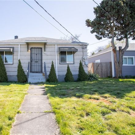 Rent this 2 bed house on 5409 South M Street in Tacoma, WA 98408