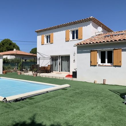Rent this 1 bed house on 155B Chemin Carraire de Salin in 13510 Aix-en-Provence, France