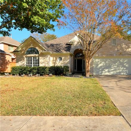 Rent this 4 bed house on 2602 Henley Drive in Round Rock, TX 78681