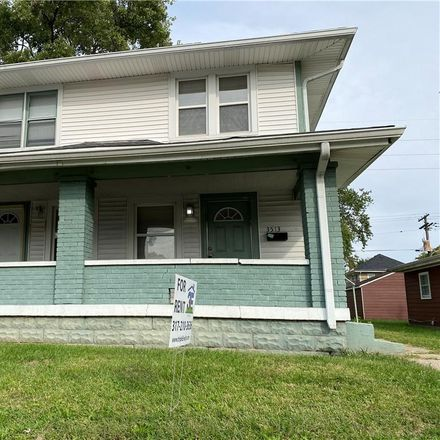 Rent this 1 bed house on Graceland Ave in Indianapolis, IN