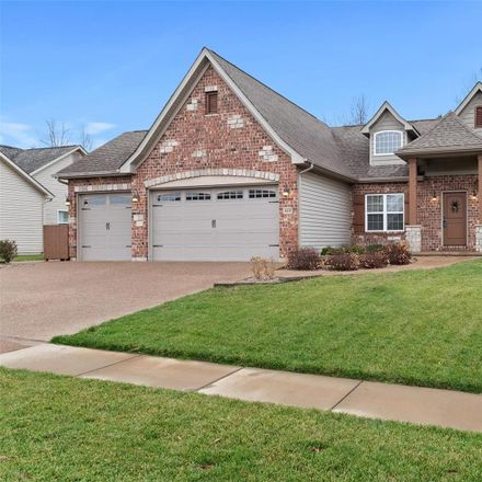 Rent this 4 bed house on 412 Cottage Grove Drive in Wentzville, MO 63385