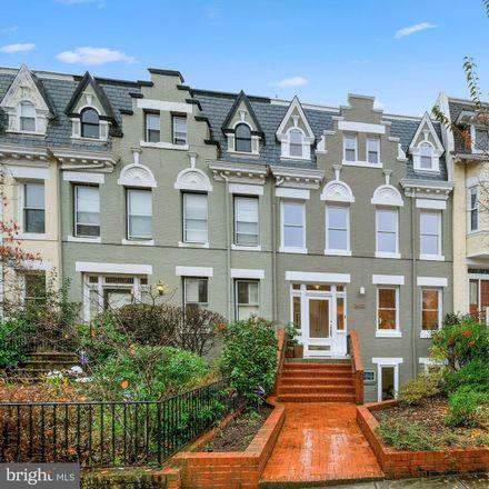 Rent this 5 bed townhouse on 2622 Garfield Street Northwest in Washington, DC 20008
