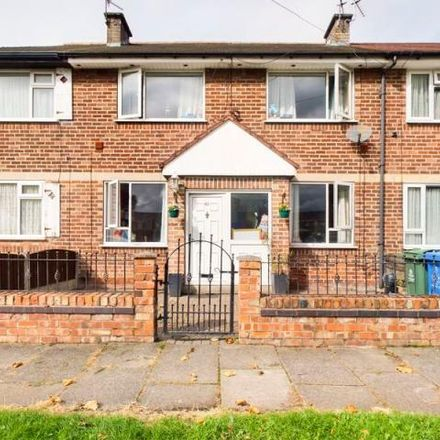 Rent this 3 bed house on Cheriton Road in Flixton, M41 8QZ