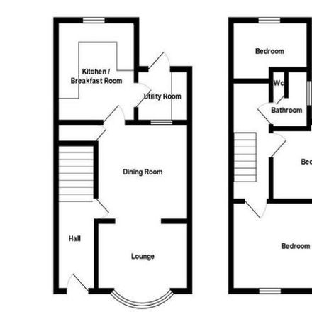 Rent this 3 bed house on John Street in Bargoed CF81 8PG, United Kingdom