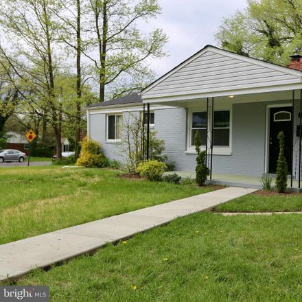 Rent this 4 bed house on 3400 Rutgers Street in Hyattsville, MD 20783
