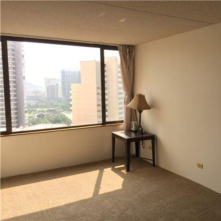 Rent this 1 bed condo on Chateau Waikiki in 411 Hobron Lane, Honolulu