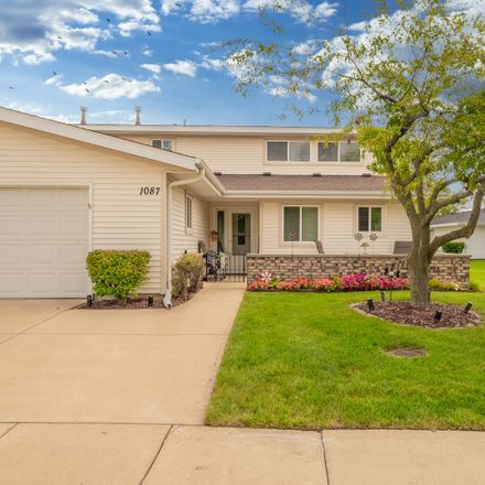 Rent this 3 bed townhouse on 1087 Foxboro Lane in Schaumburg, IL 60193