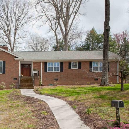 Rent this 5 bed house on 8 Indian Springs Drive in Lake Forest Heights, SC 29615