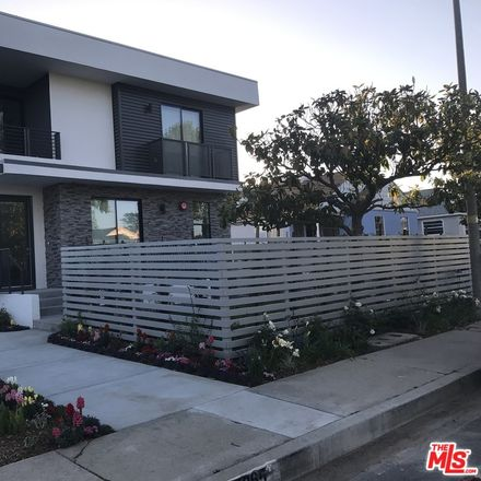 Rent this 4 bed apartment on 8365-8367 Dunbarton Avenue in Los Angeles, CA 90045