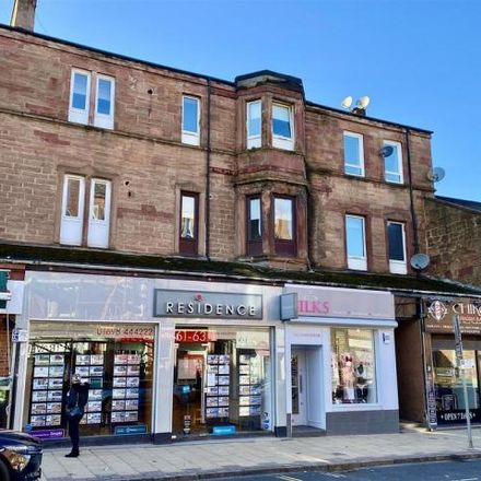 Rent this 1 bed apartment on The Cycle Shop in Main Street, Uddingston G71 7BP