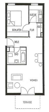 Rent this 2 bed apartment on Carl-August-Fischer-Straße 22 in 09131 Chemnitz, Germany